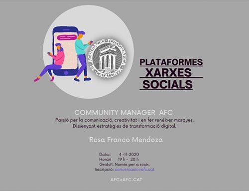 Taller: Plataformes de Xarxes Socials