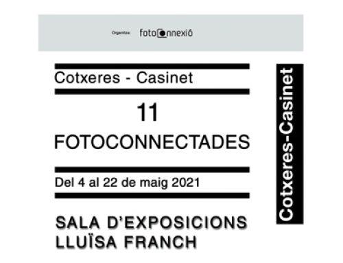 Exposició 11 Fotoconnectades. Centre Cívic Cotxeres de Sants