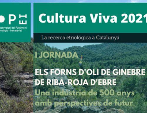 I Jornada: Els forns d'oli de ginebre de Riba-roja d'Ebre / Josep Blanch