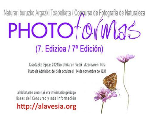 7a. Edició del Concurs de Fotografia de Natura: PHOTOFORMAS